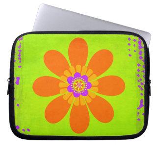 Hippie Flower Laptop Sleeve