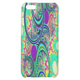 Hippie Flowers Art Speck iPhone 4 Case - Pink