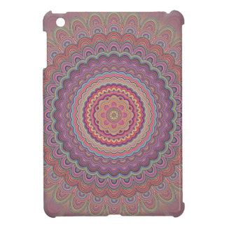 Hippie geometric mandala iPad mini cover