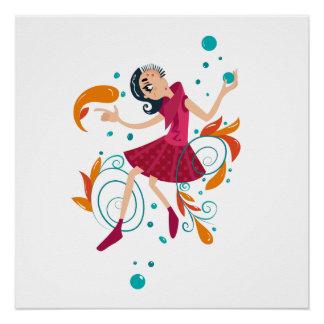 Hippie Girl! Poster