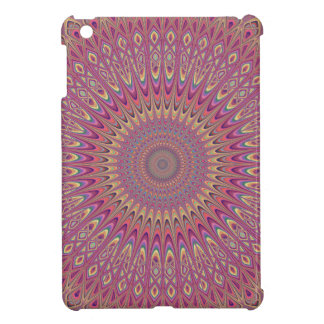 Hippie grid mandala iPad mini cases