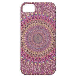 Hippie grid mandala iPhone 5 covers