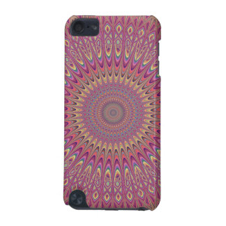 Hippie grid mandala iPod touch (5th generation) case