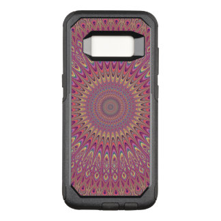 Hippie grid mandala OtterBox commuter samsung galaxy s8 case