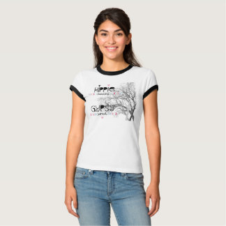 Hippie Heart Gypsy Soul with Tree of Life T-Shirt