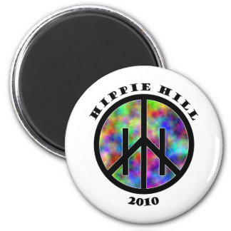 Hippie Hill Stuff Fridge Magnet