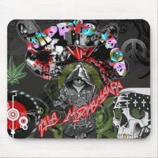 Hippie Hop Mouse Pad