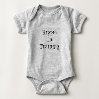 Hippie in Training baby onsie Baby Bodysuit
