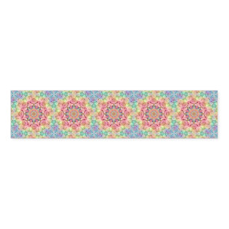 Hippie Kaleidoscope  Pattern Napkin Bands