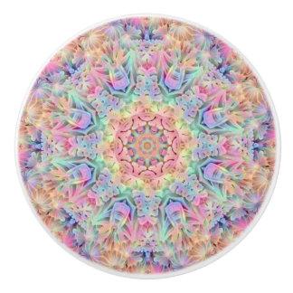 Hippie Pattern Ceramic Knob