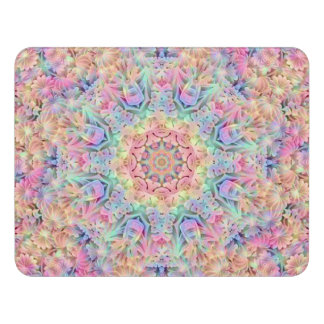 Hippie Pattern Door Sign