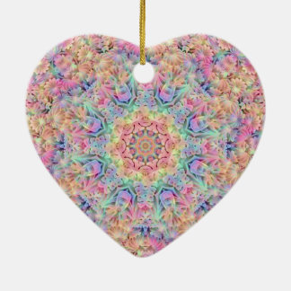 Hippie Pattern Ornaments 6 shapes