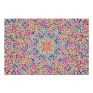 Hippie Pattern Posters
