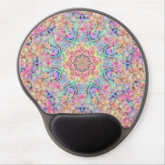 Hippie Pattern Vintage Kaleidoscope   Gel Mousepad