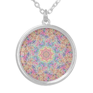Hippie Pattern Vintage Kaleidoscope   Necklace