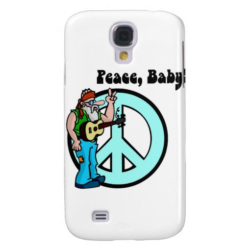 Hippie: Peace Baby Samsung Galaxy S4 Covers