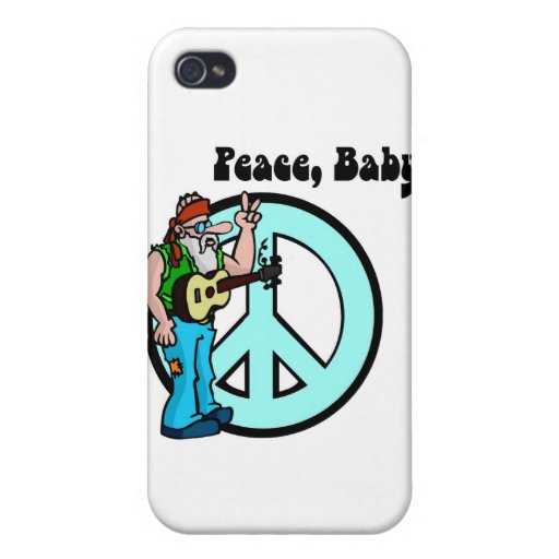 Hippie: Peace Baby iPhone 4 Case