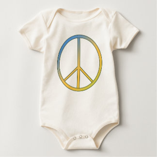 Hippie Peace Sign T Shirts Baby