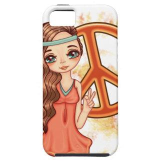 Hippie Rose iPhone 5 Case