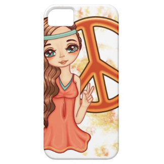 Hippie Rose iPhone 5 Covers