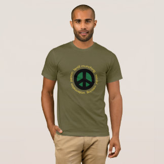 Hippie Scottish Independence Supporter T-Shirt