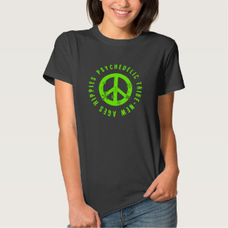 Hippie t shirt psychedelic tribe