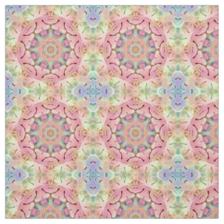 Hippie  Two Kaleidoscope   Fabric, 7 styles Fabric