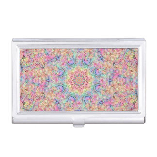 Hippie Vintage Kaleidoscope Business Card Case
