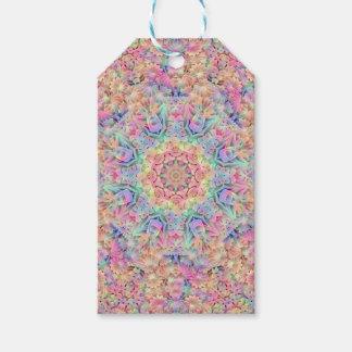 Hippie Vintage Kaleidoscope  Gift Tags