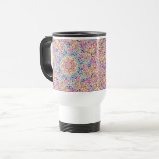 Hippie Vintage Kaleidoscope  Travel Mug