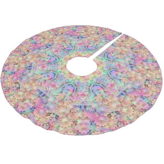 Hippie Vintage Kaleidoscope  Tree Skirt