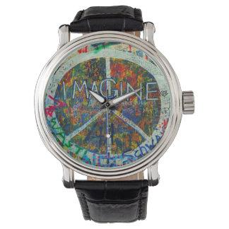 Hippie Wall Art Wristwatches
