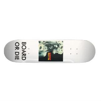 hippiebook, BOARD OR DIE Skateboards