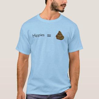Hippies Equal Poop T-Shirt
