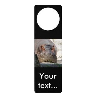Hippo_20171101_by_JAMFoto Door Hanger