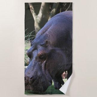 Hippo AJ17 Beach Towel