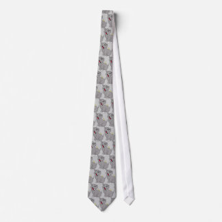 Hippo and Bird Tie