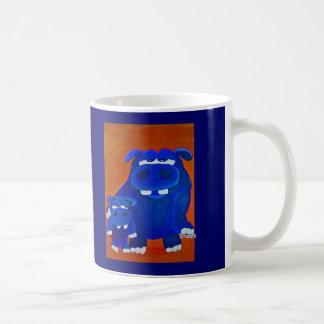 Hippo and Son Coffee Mug