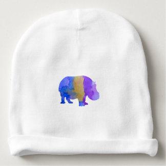 Hippo Baby Beanie
