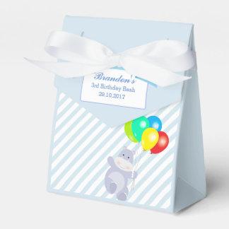 Hippo Balloons Adventure Birthday Party Favor Favour Box
