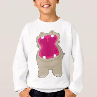 Hippo Big Mouth Sweatshirt