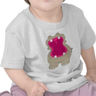 Hippo Big Mouth T Shirts