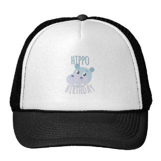 Hippo Birthday Cap