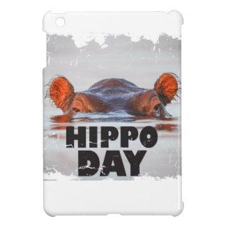 Hippo Day - 15th February - Appreciation Day iPad Mini Covers