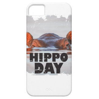 Hippo Day - 15th February - Appreciation Day iPhone 5 Case