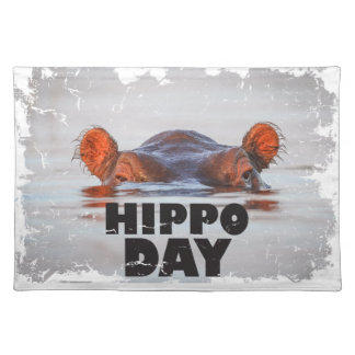 Hippo Day - 15th February - Appreciation Day Placemat