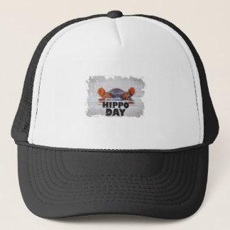 Hippo Day - 15th February - Appreciation Day Trucker Hat