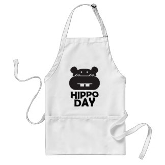 Hippo Day - 15th February Standard Apron