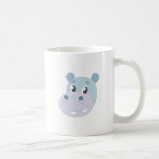 Hippo Head Coffee Mug