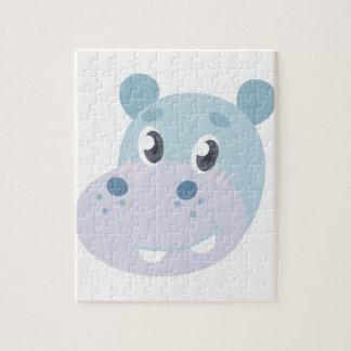 Hippo Head Puzzles
